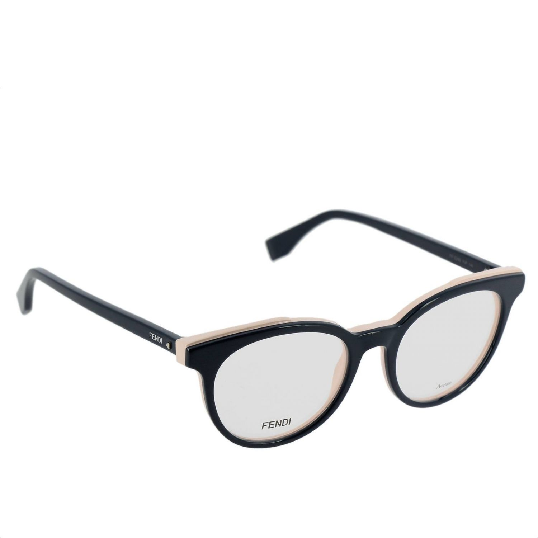 Brille Fendi: Sonnenbrille damen Fendi weiß 1