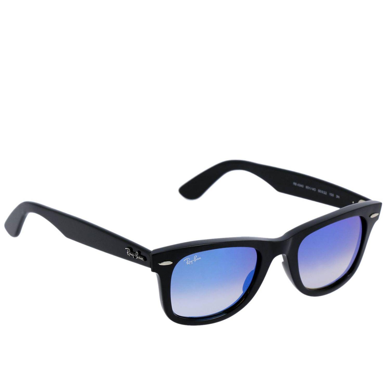 lunette ray ban homme bleu