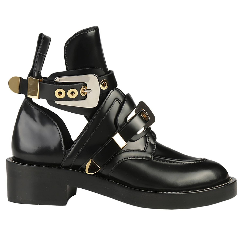 bottine balenciaga noir