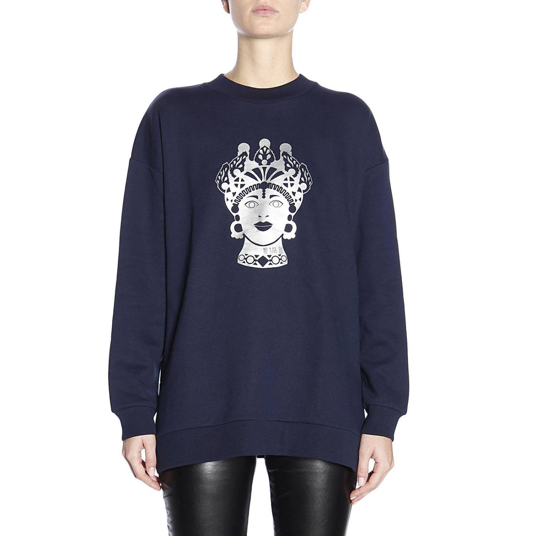 Sweatshirt women Nimabi blue 1