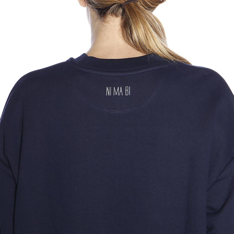 Sweatshirt women Nimabi blue 3