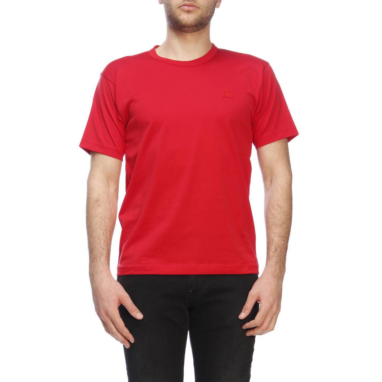 Camiseta hombre Acne Studios rojo 1
