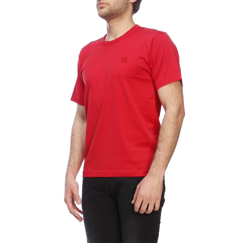 Camiseta hombre Acne Studios rojo 2