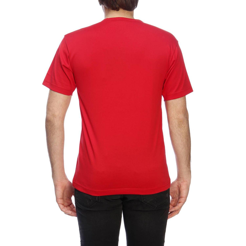 Camiseta hombre Acne Studios rojo 3