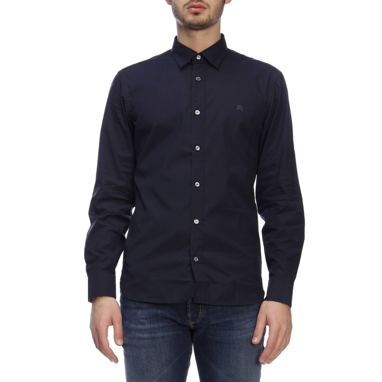 Shirt men Burberry navy 1