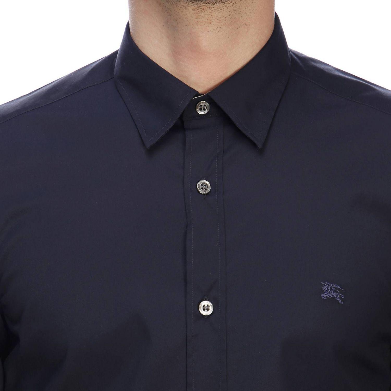 Shirt men Burberry navy 4