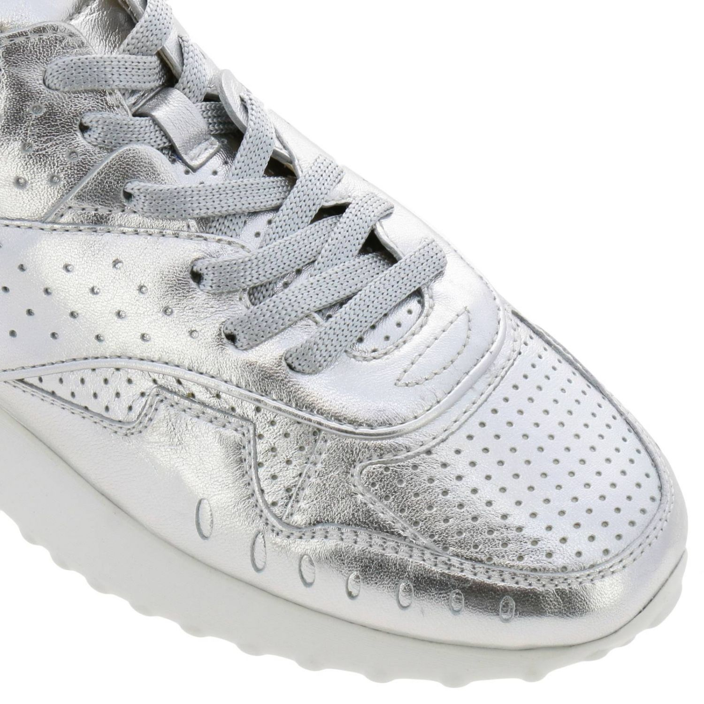 Zapatillas mujer Tod's plata 3