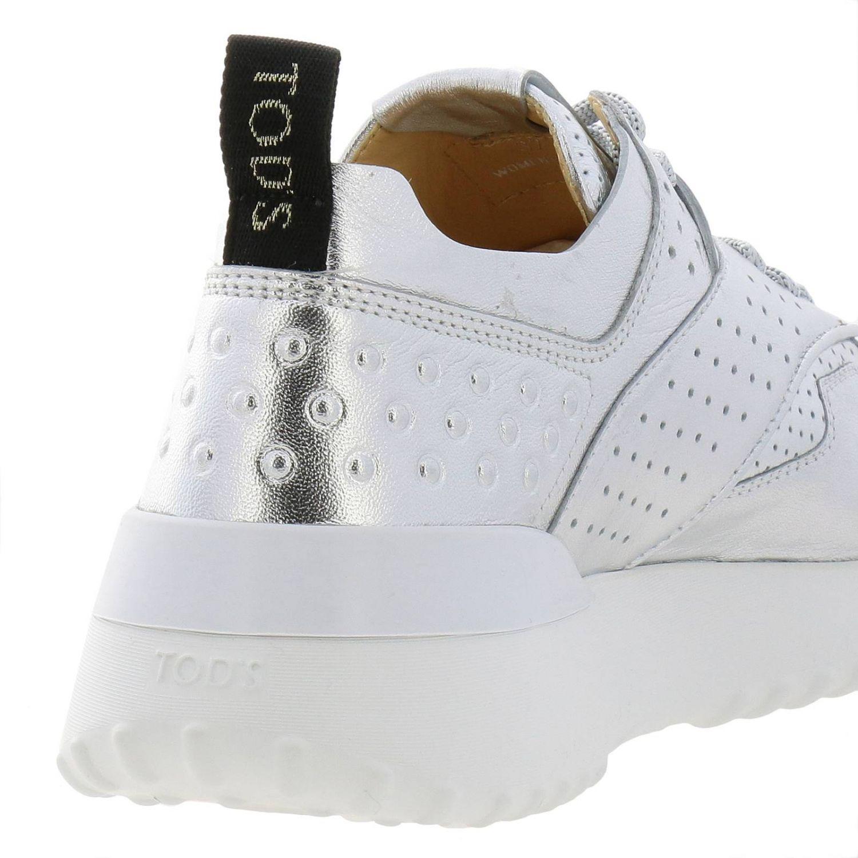 Zapatillas mujer Tod's plata 4