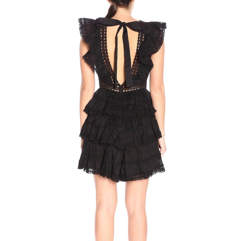 Dress women Zimmermann black 3