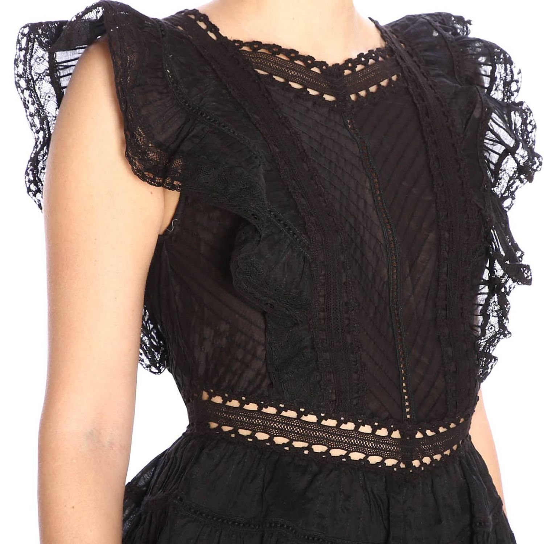 Dress women Zimmermann black 4