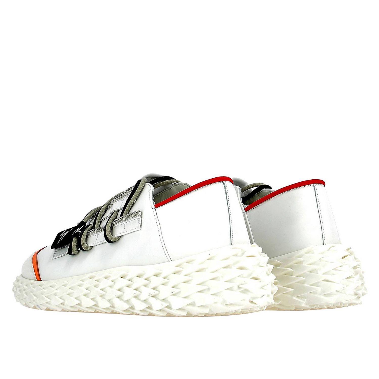 Спортивная обувь Мужское Giuseppe Zanotti Design белый 3