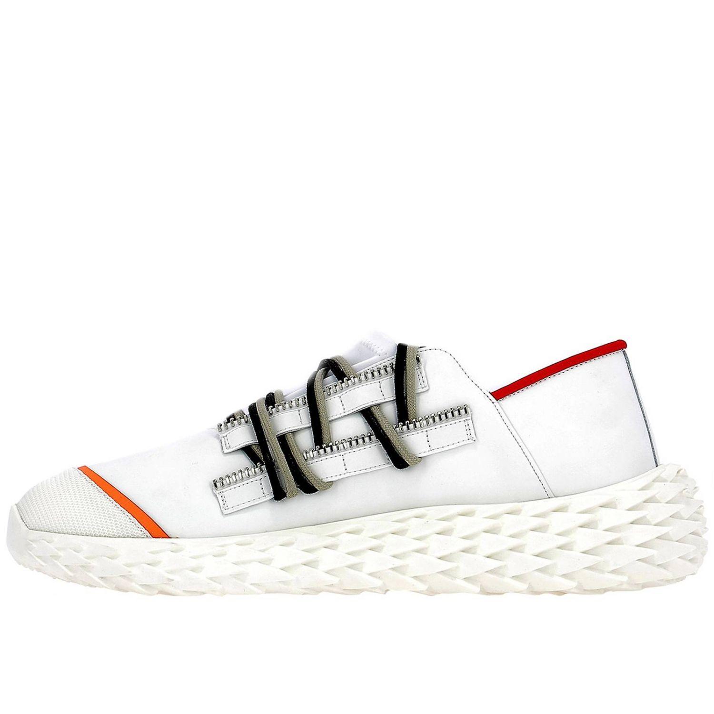 Спортивная обувь Мужское Giuseppe Zanotti Design белый 4