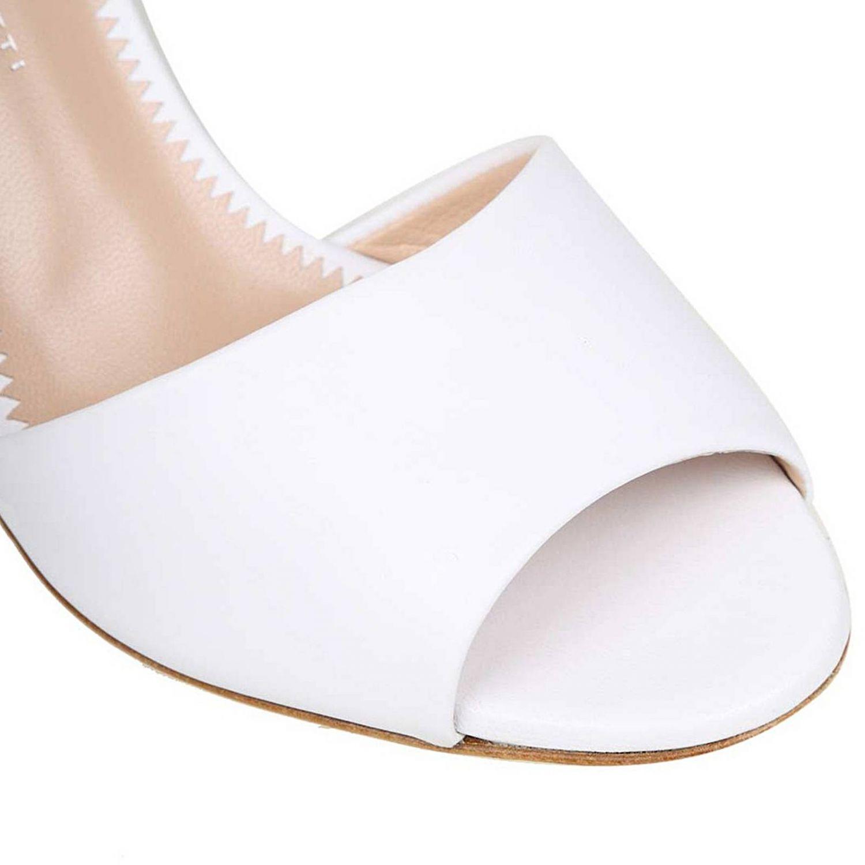 Босоножки на каблуке Женское Giuseppe Zanotti Design белый 3