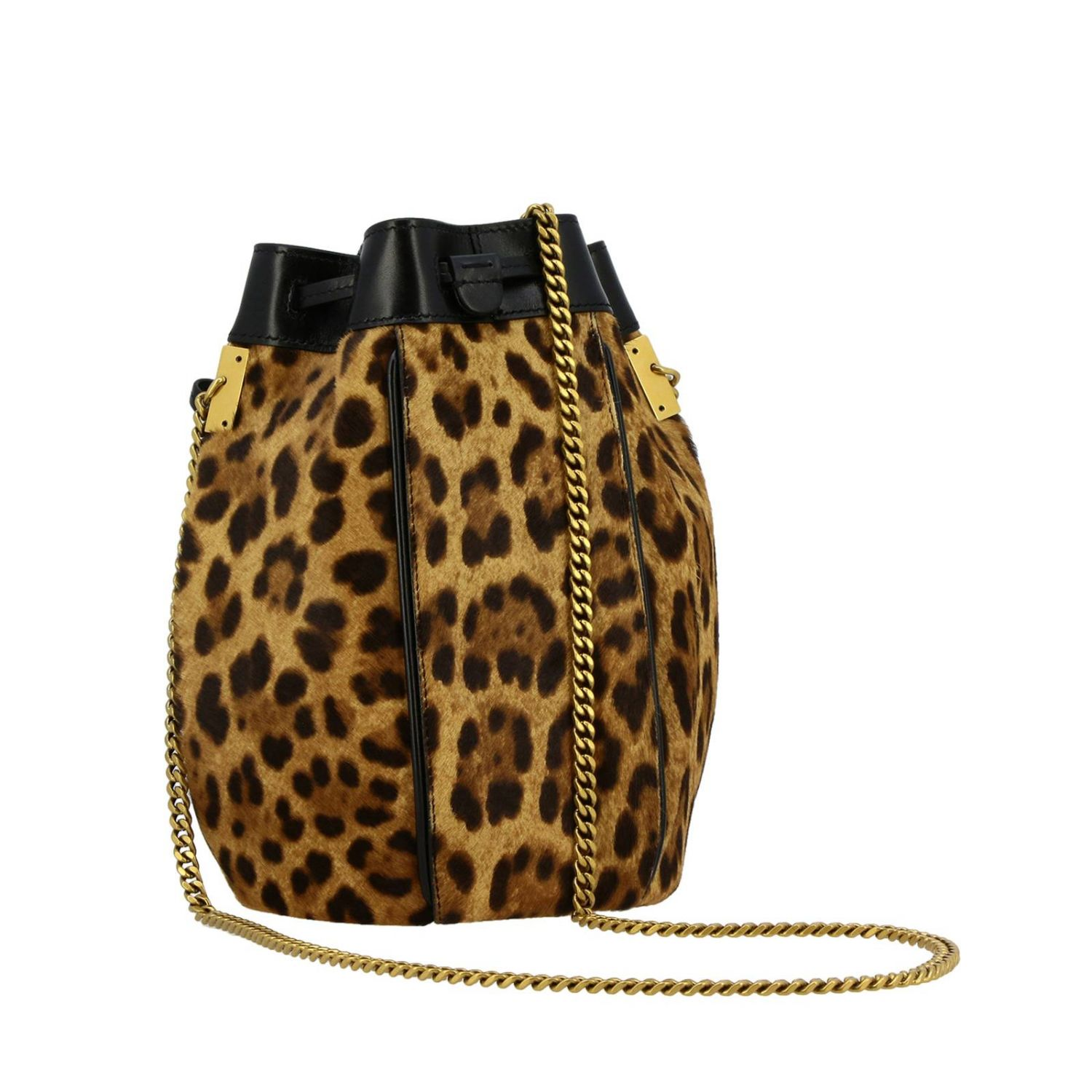 Shoulder bag women Saint Laurent natural 3