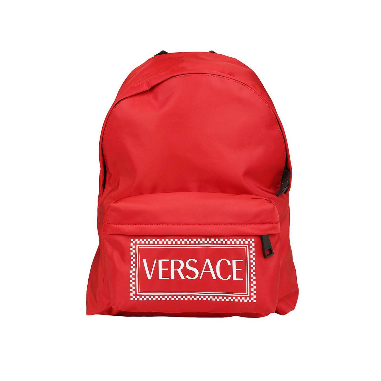 Backpack men Versace red 1