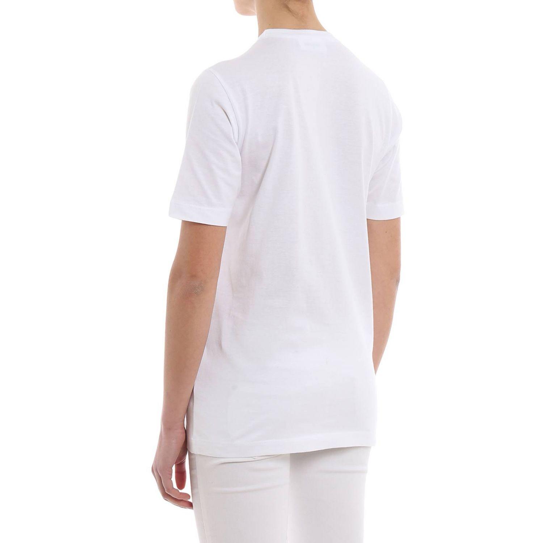 T-shirt donna Dsquared2 bianco 2