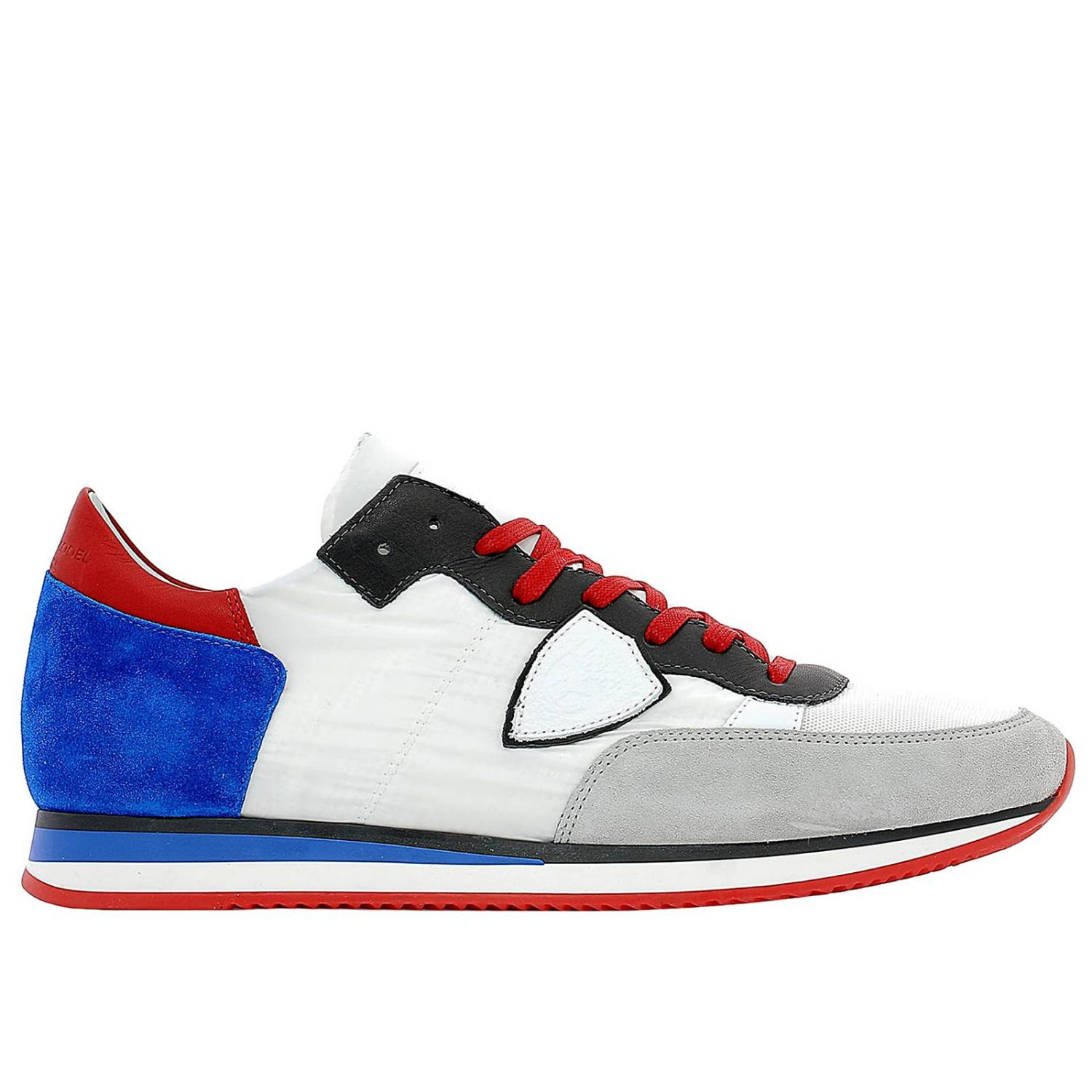 Trainers Philippe Model: Shoes men Philippe Model blue 1