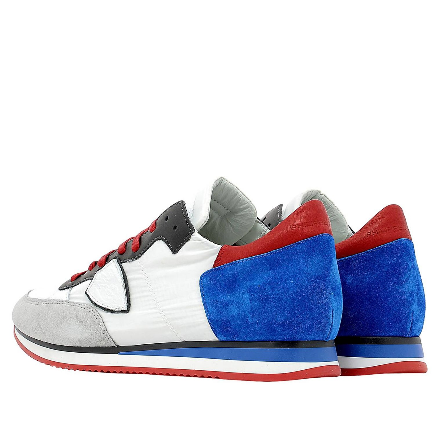 Trainers Philippe Model: Shoes men Philippe Model blue 3