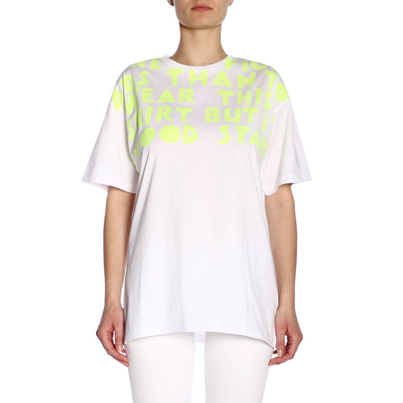 T-shirt femme Maison Margiela jaune 1