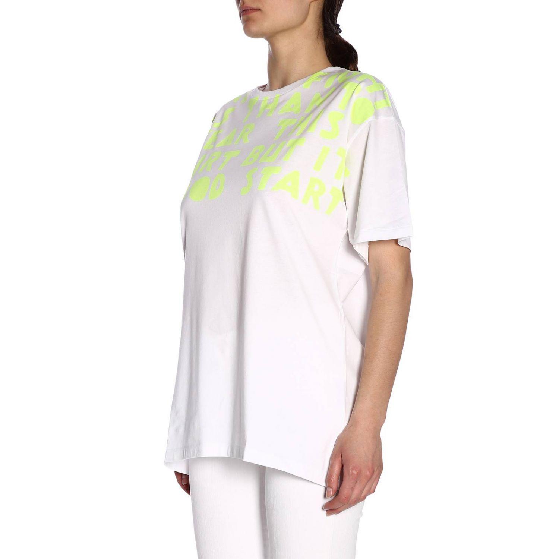 T-shirt femme Maison Margiela jaune 2