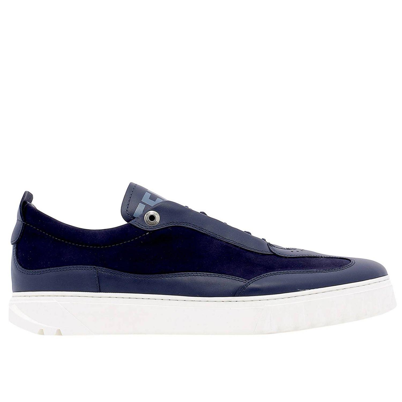 Shoes men Salvatore Ferragamo blue 1