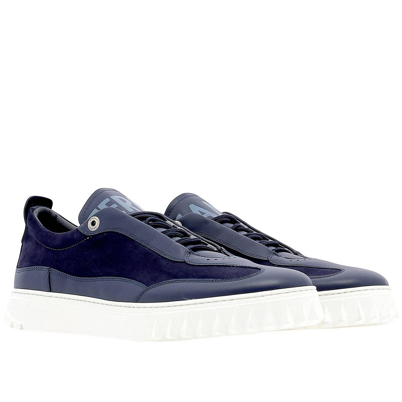 Shoes men Salvatore Ferragamo blue 2