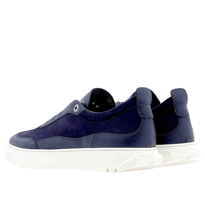 Shoes men Salvatore Ferragamo blue 3