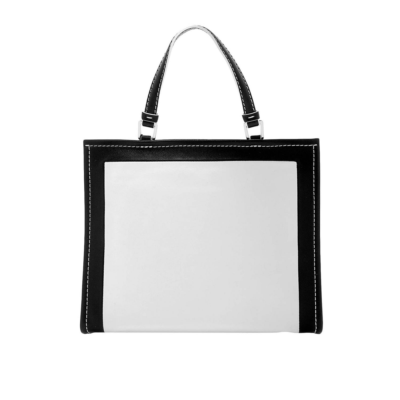 Borsa The Box in pelle con maxi stampa Marc Jacobs