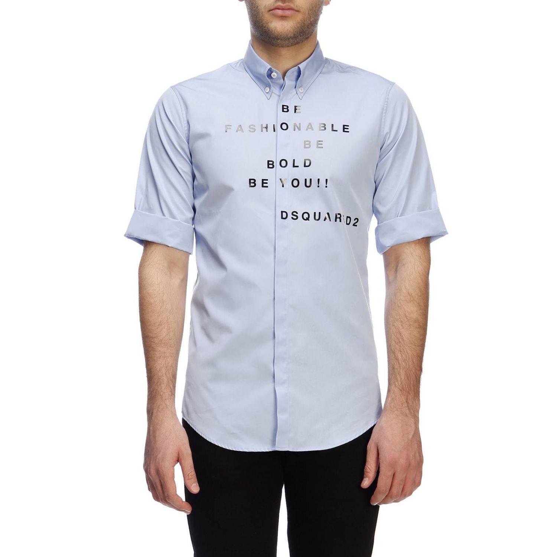 衬衫 男士 Dsquared2 浅蓝色 1