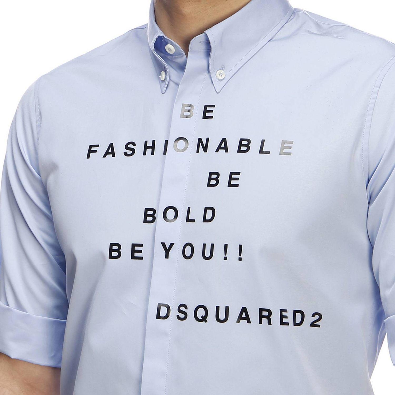 衬衫 男士 Dsquared2 浅蓝色 4