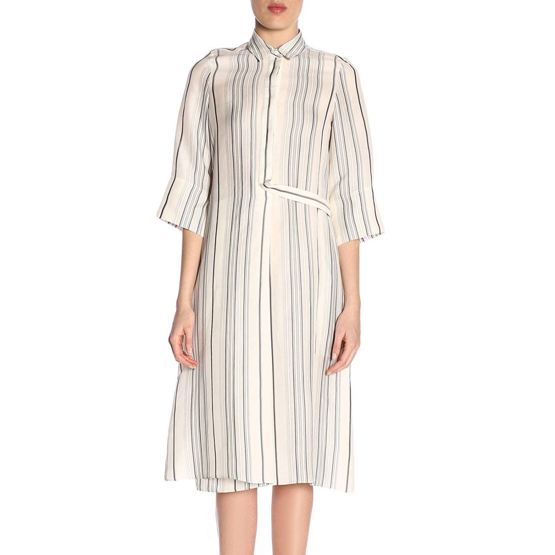 Robes femme Jil Sander blanc 1