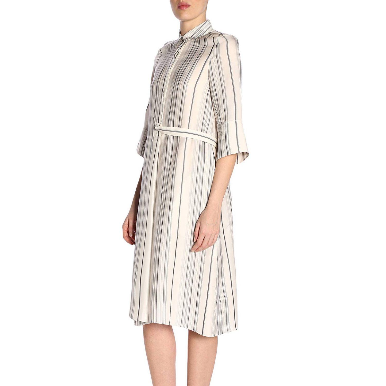 Robes femme Jil Sander blanc 2