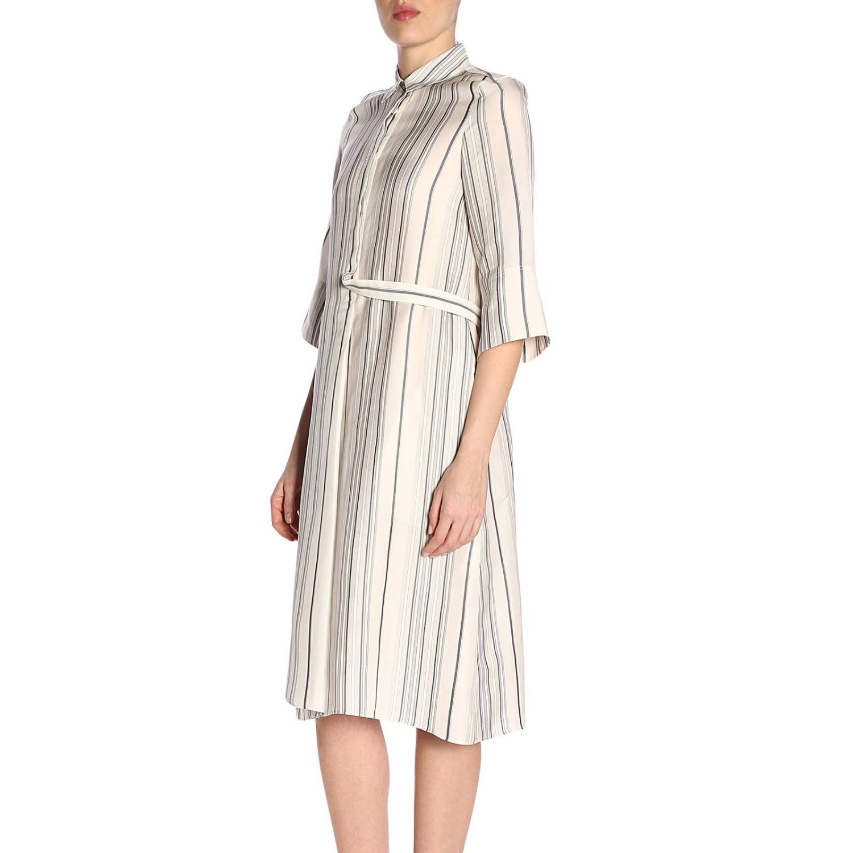 Dress Jil Sander: Dress women Jil Sander white 2