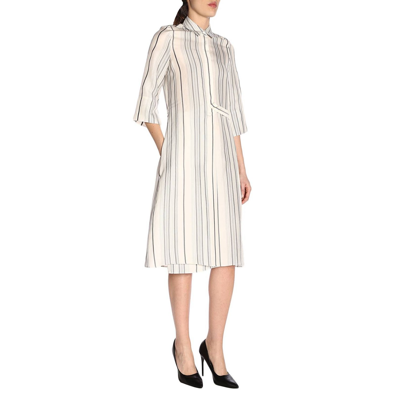 Dress Jil Sander: Dress women Jil Sander white 4