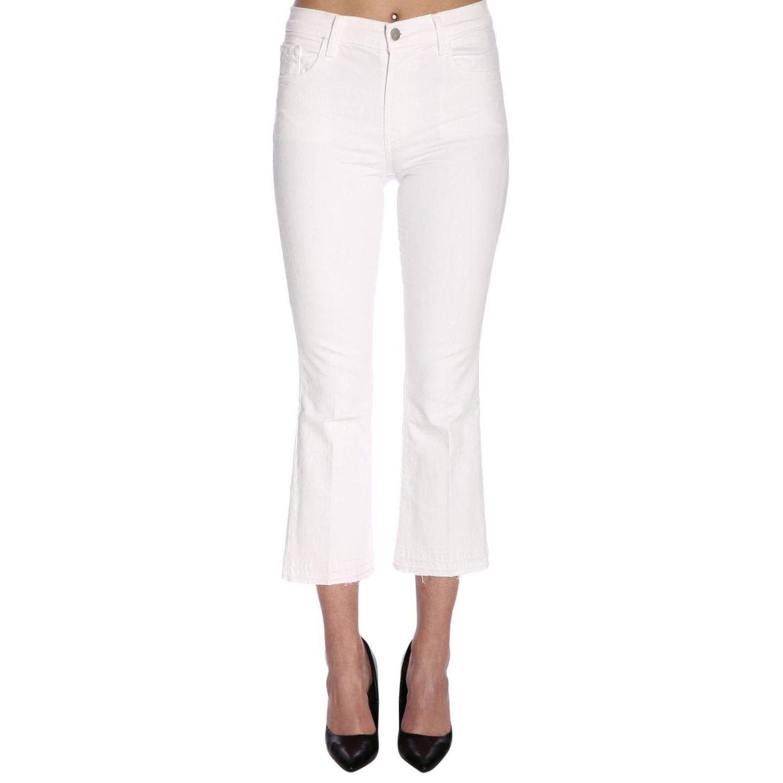 Jeans damen J Brand weiß 1