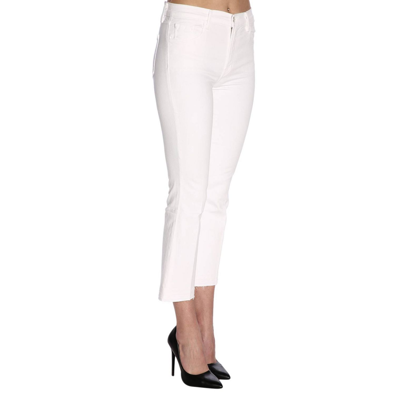 Jeans damen J Brand weiß 2
