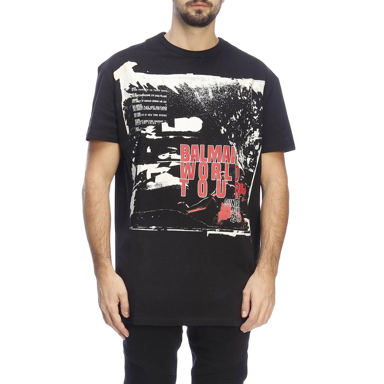 T恤 男士 Balmain 黑色 1