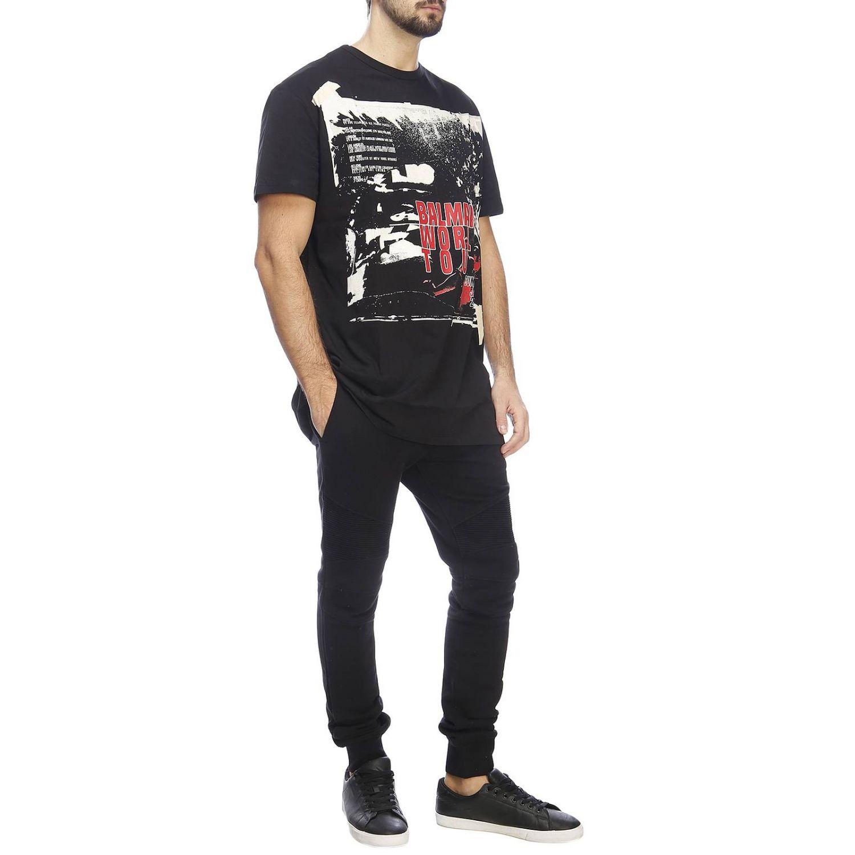 T恤 男士 Balmain 黑色 4
