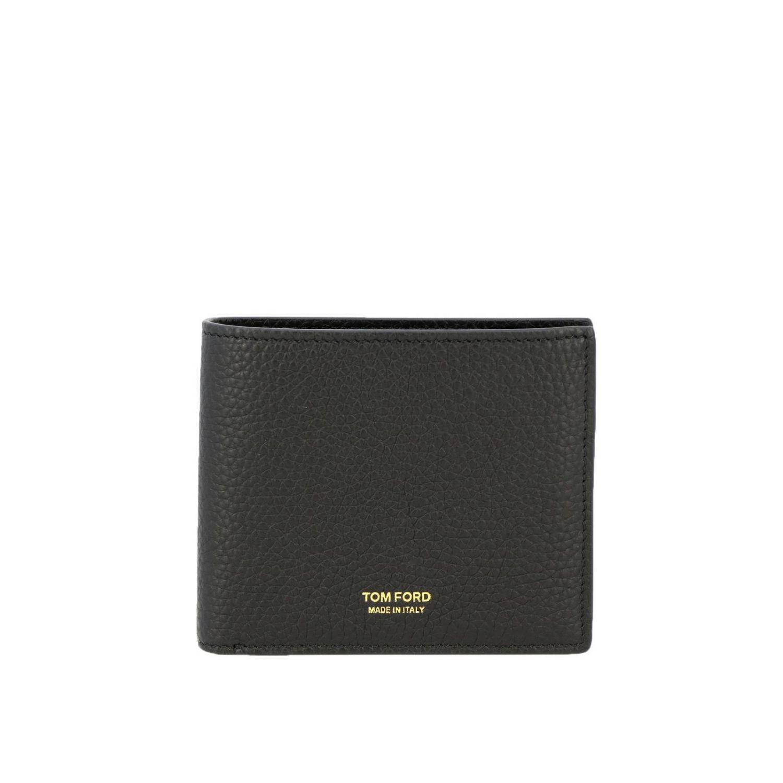Wallet men Tom Ford black 1