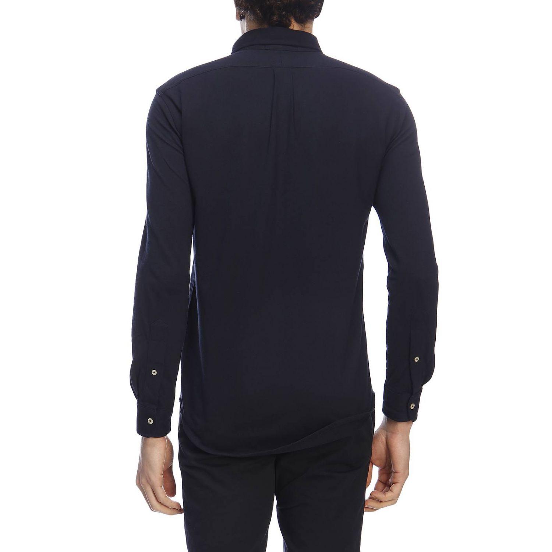 Camisa hombre Polo Ralph Lauren azul marino 3