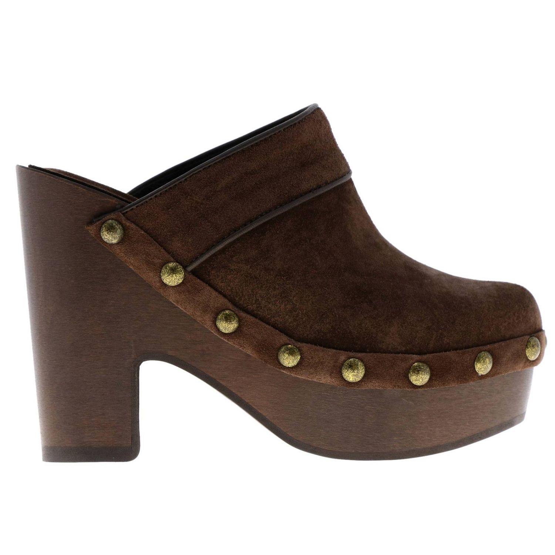 Flat shoes women Philosophy Di Lorenzo Serafini brown 1
