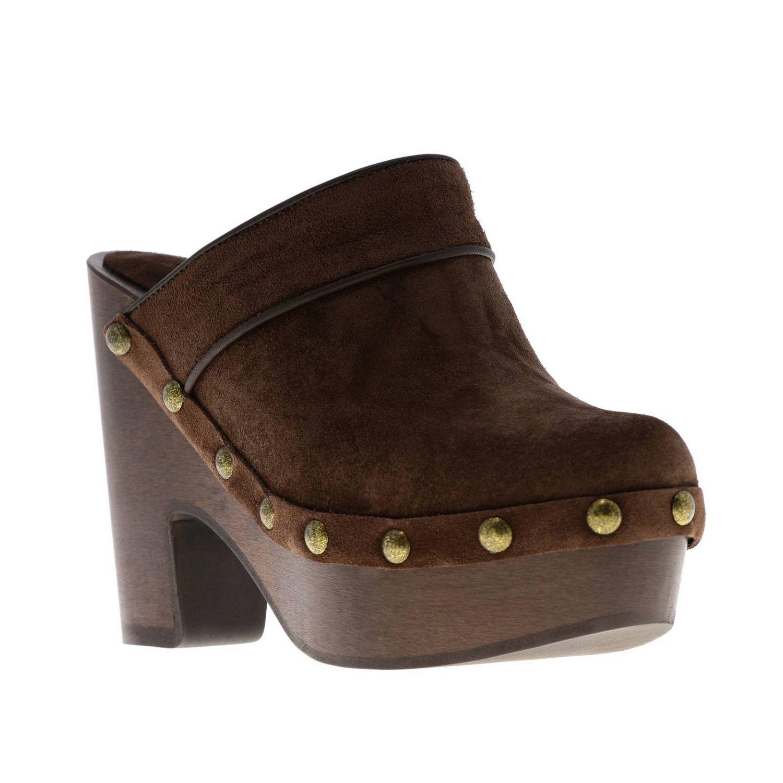 Flat shoes women Philosophy Di Lorenzo Serafini brown 2