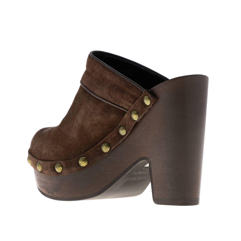 Flat shoes women Philosophy Di Lorenzo Serafini brown 3