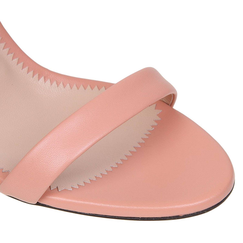 Босоножки на каблуке Женское Giuseppe Zanotti Design розовый 4