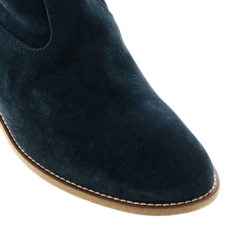 Zapatos mujer Isabel Marant petróleo azul 3