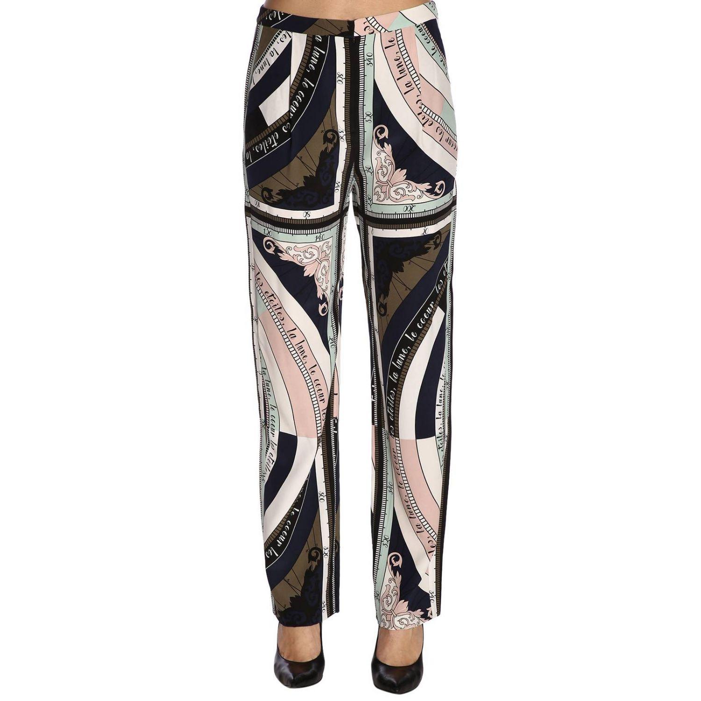 Trousers women Tory Burch pink 1