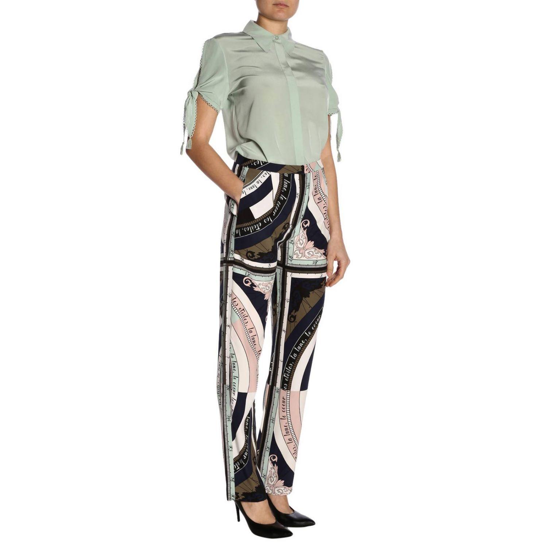 Trousers women Tory Burch pink 4