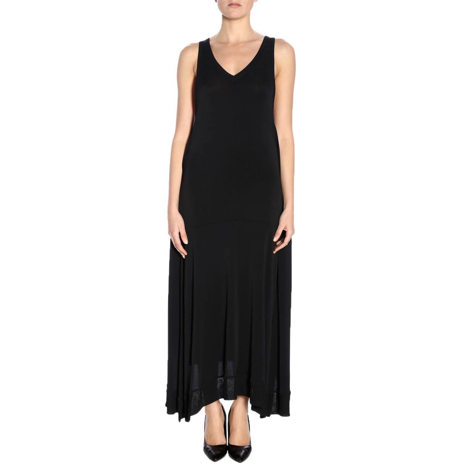 Dress women Paco Rabanne black 1