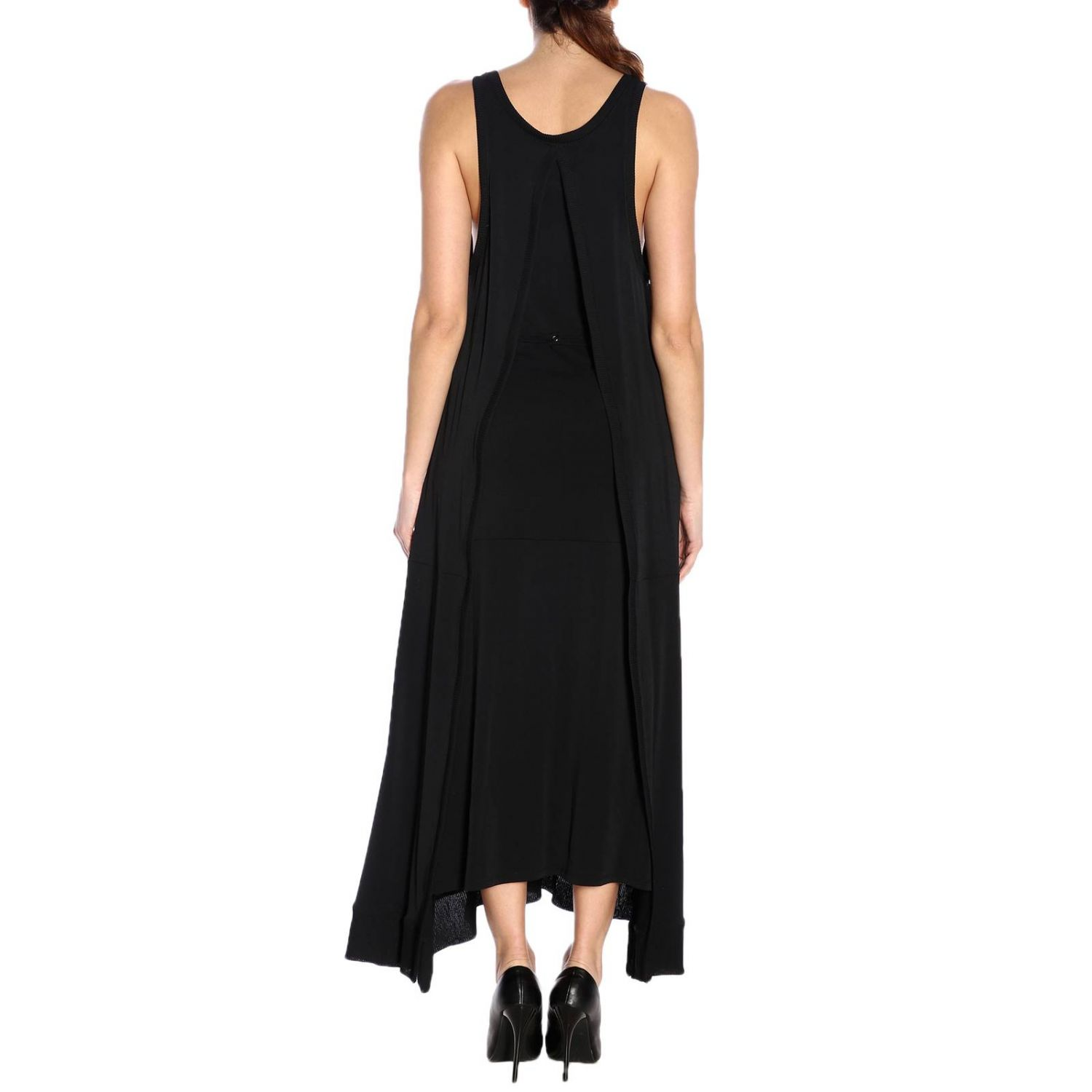 Dress women Paco Rabanne black 3