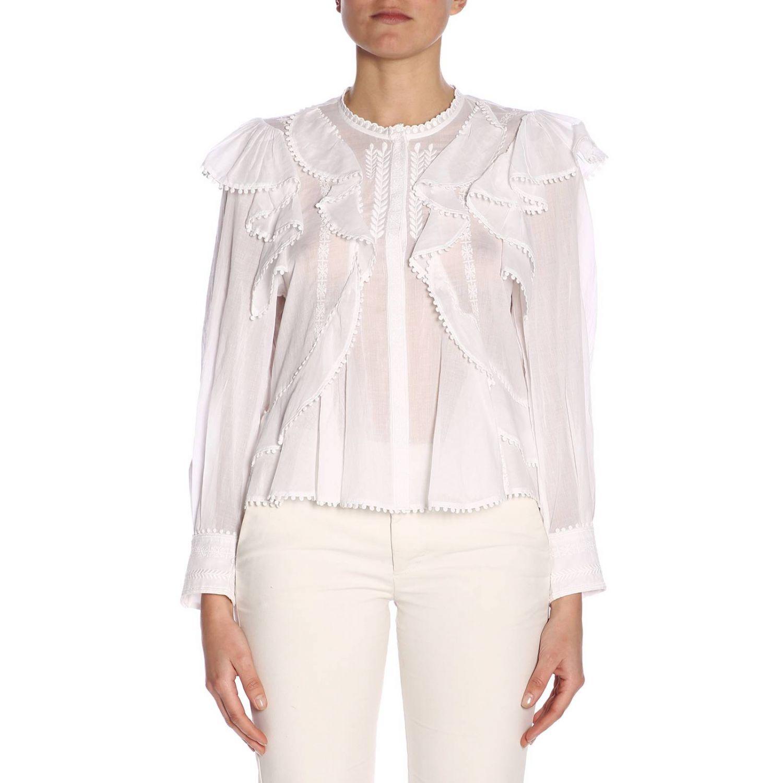 Shirt women Isabel Marant Etoile white 1